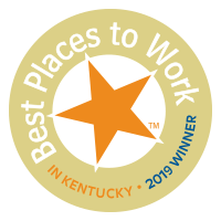 2019 Winner, Best Places To Work in KY