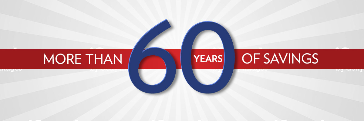 sixty years of savings